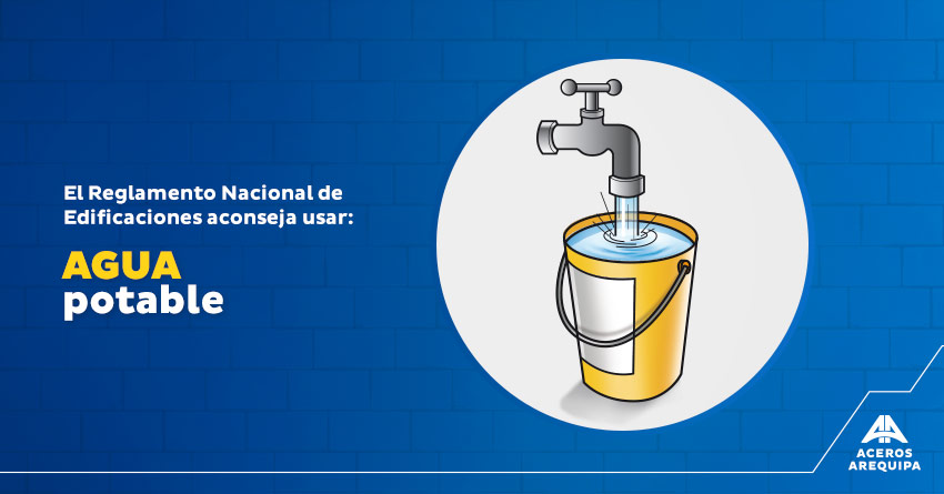 agua potable construccion