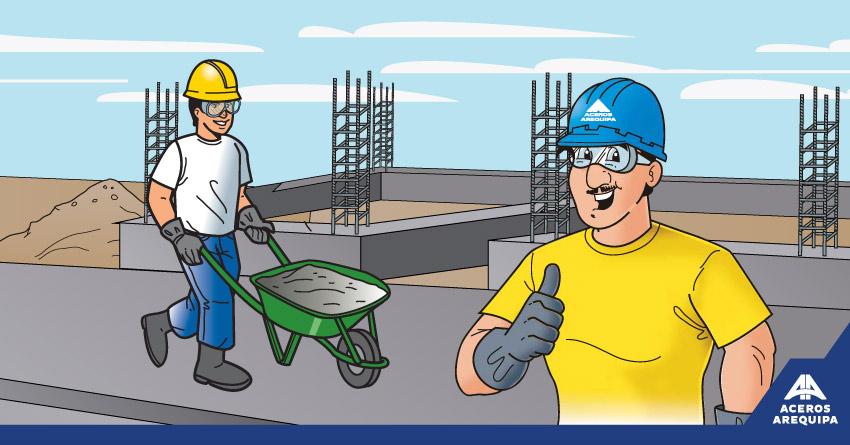 equipo de proteccion personal construyendo seguro