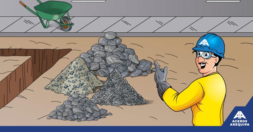 piedras para construcción construyendo seguro