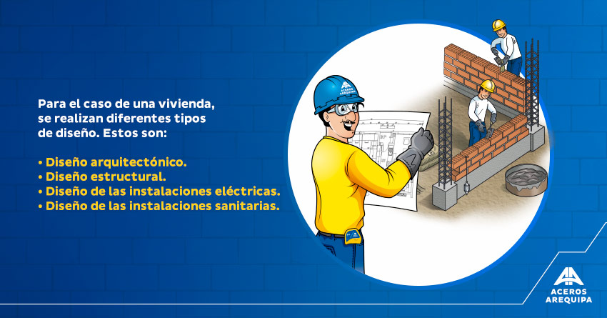 diseño de casas construyendo seguro