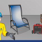 Carpintería metálica: cómo fabricar un sillón de tela