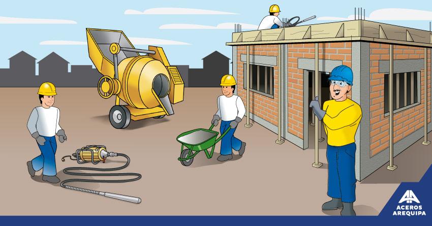equipos usados en la construcción
