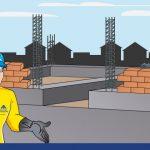 Construcción de muros: altura máxima por jornada de trabajo