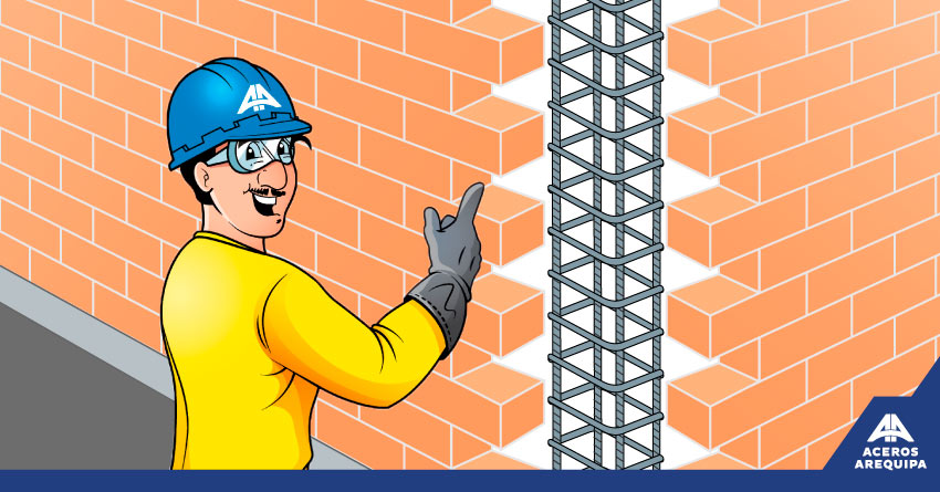 buena unión muro portante