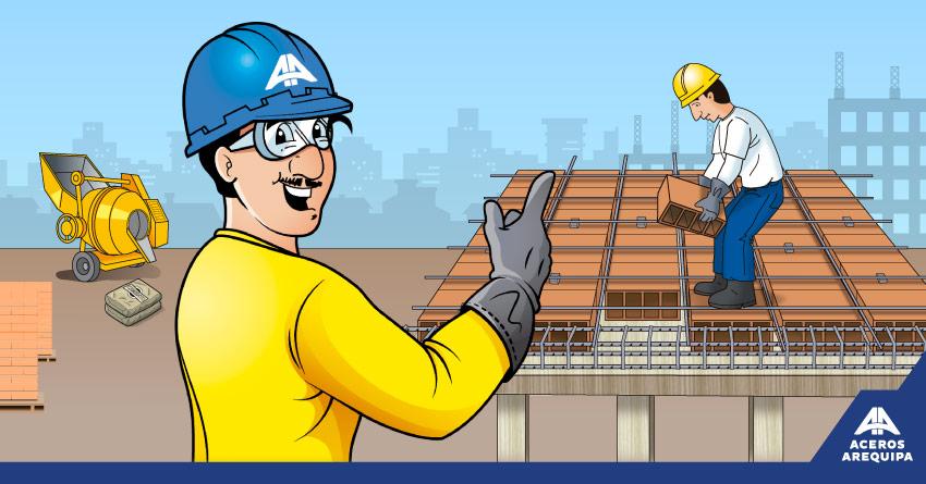 Qué son las losas aligeradas - Constructor animado