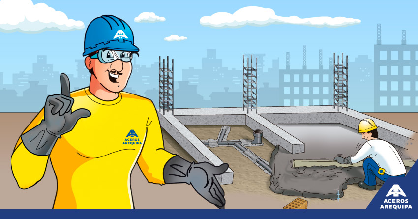 servicios públicos construyendo seguro