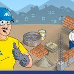 ¿Cómo preparar el mortero para asentar los ladrillos?
