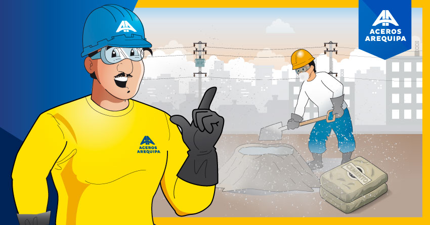 Cómo prevenir los riesgos químicos que produce el cemento
