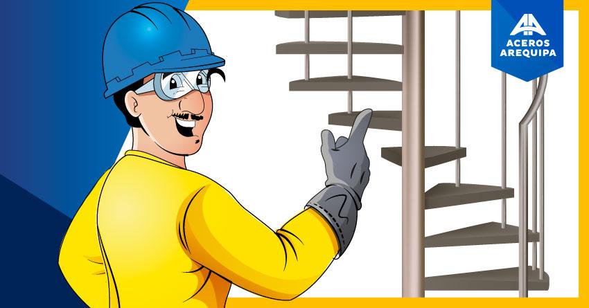 Aprende a diseñar una escalera de caracol