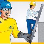 Consejos de seguridad al usar la escalera portátil