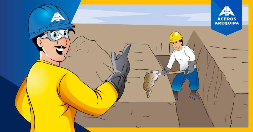 consejos al hacer excavación de zanjas