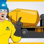 Evita los peligros al manejar tu camión de concreto