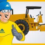 Medidas de seguridad al utilizar el compactador autopropulsado