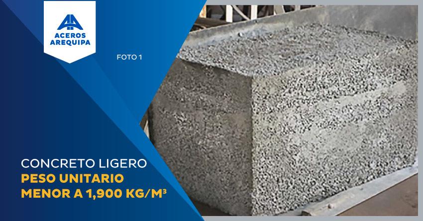 concreto ligero