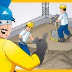 Proceso de vaciado del concreto en falso piso