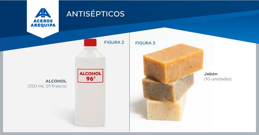 antisepticos botiquin