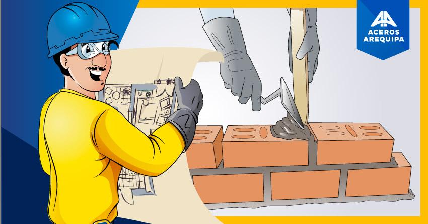 ¿Sabes cómo calcular la cantidad de mortero, cemento y arena gruesa por m2 de muro?