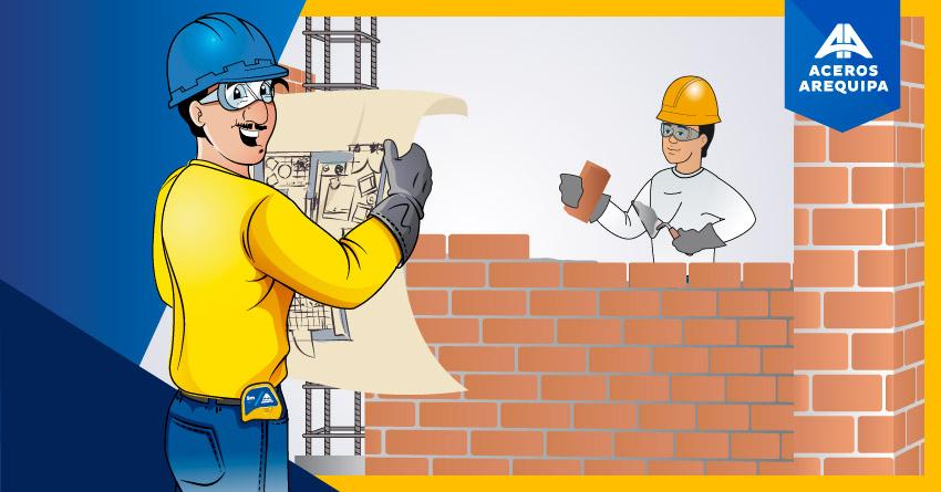 Recomendaciones al construir muros de viviendas