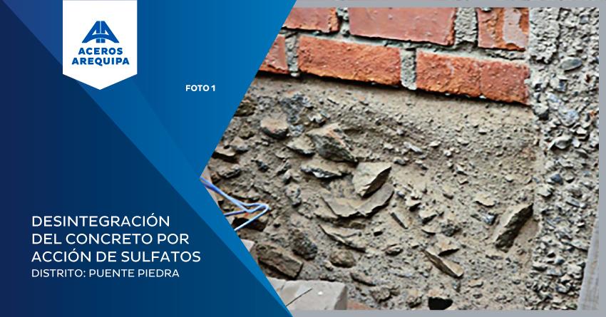 desintegracion del concreto por accion