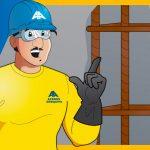 Evita la corrosión de barras de acero en el concreto
