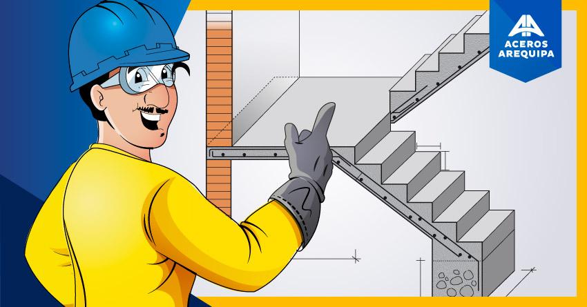 2 Escaleras de concreto armado